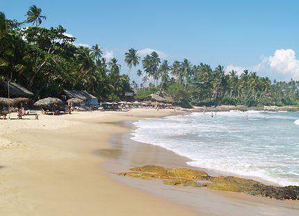 La plage de Goyambokka