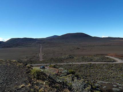 Aux abords du Piton de la Fournaise, Réunion
