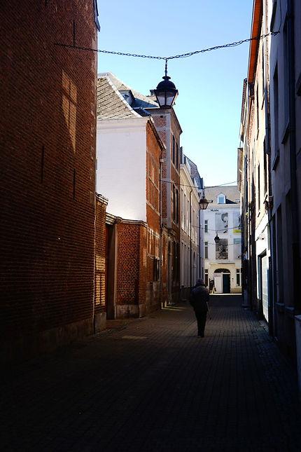 Rue Ruplémont et musée Rops