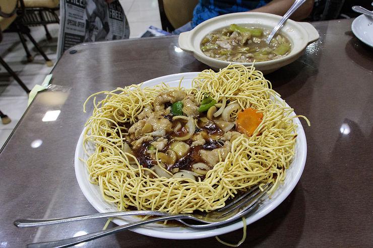 Les cuisines de Manille