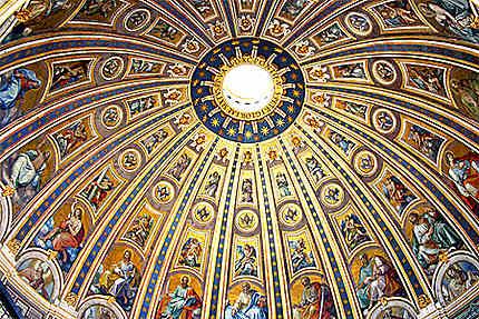 Plafond de La Nef Saint-Pierre-de-Rome