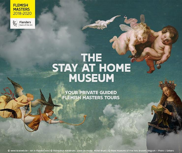 Belgique - Stay at Home Museum : les grands maîtres de la peinture flamande chez vous !