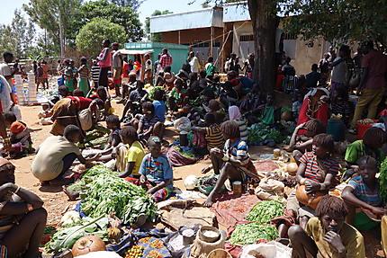 Keyafer, le marché tenu par les femmes