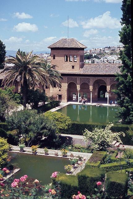 Alhambra de Grenade ; la tour des dames