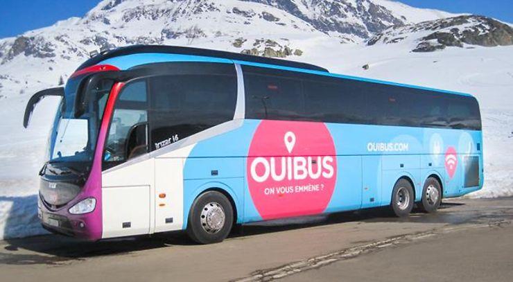 Alpes - OUIBUS relie Grenoble et Chambéry à l'aéroport de Genève