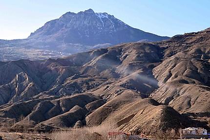 Les monts d'Alborz