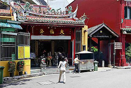 Temple à Chinatown