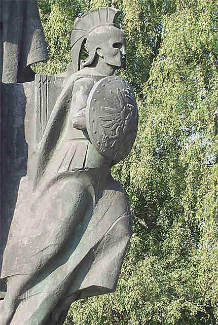 Statue : détail