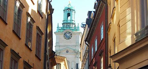 De retour de 3 jours à Stockholm