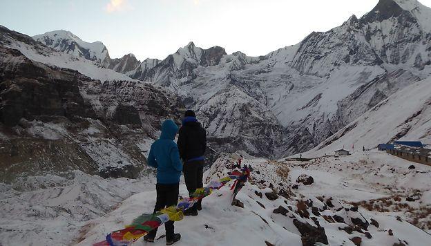 Vers le camp de base de l'Annapurna ! WhereIsFabien