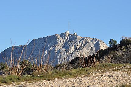 Pic de Bertagne vu du col de l'Espigoulier