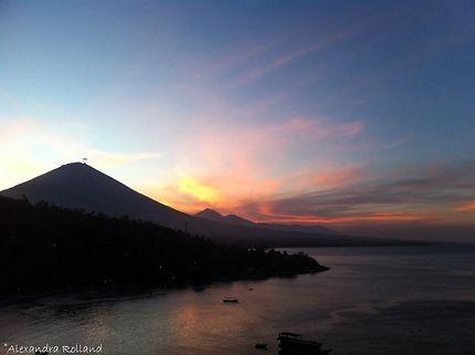 Mont Agung Indonésie