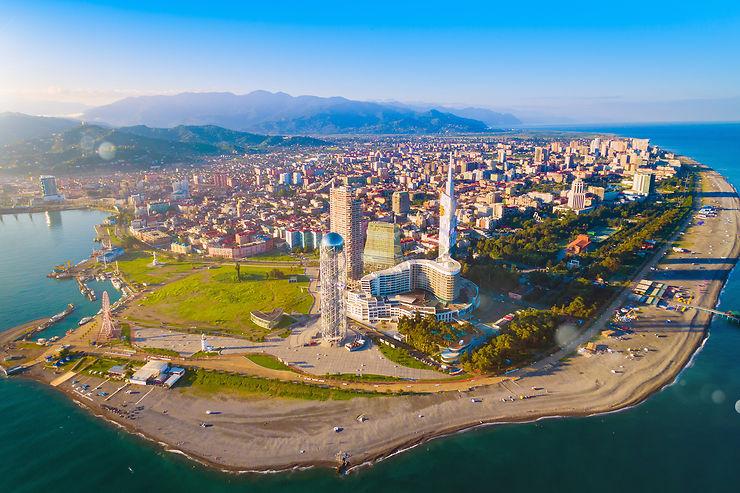 Batoumi et la mer Noire