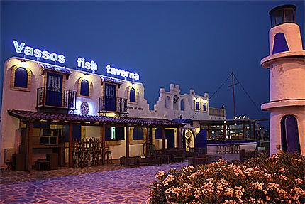 Taverne de poisson chypriote !