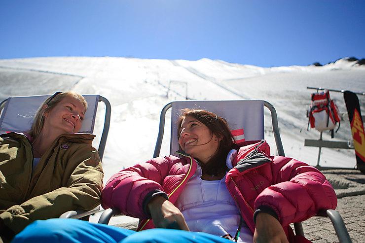 Alpes - Skier l'été, c'est possible aux Deux-Alpes
