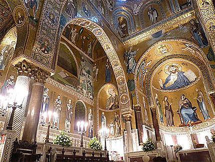 Chapelle palatine du Palais des Normands de Palerme