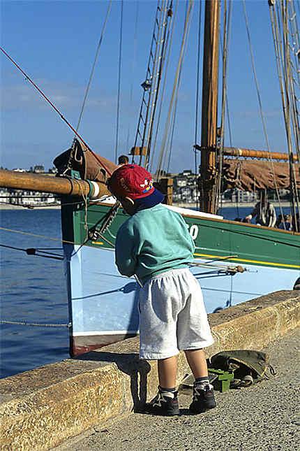 L'apprenti pêcheur, Erquy