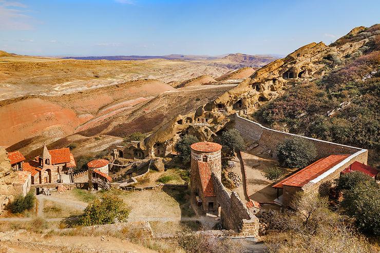 Les monastères troglodytes