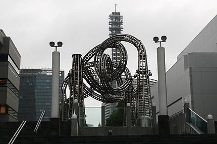Statue de fer