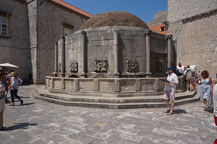 La fontaine de Dubrovnik, Croatie