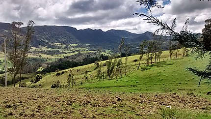 Paysage du Cundinamarca