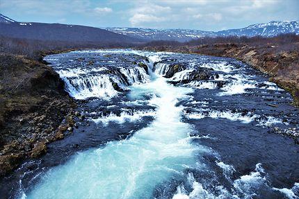 La cascade de Bruarfoss