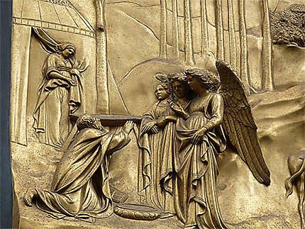 Abraham implore les anges