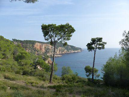 Vue mer, à Saint-Cyr-sur-Mer