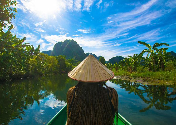 Zen en Baie d'Along terrestre, Vietnam