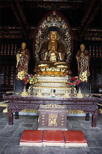 Bouddha (Grande Pagode de l'Oie Sauvage)