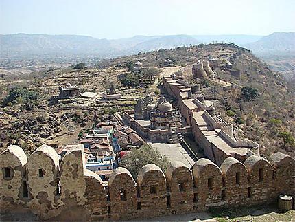 Les remparts de Kumbalgarh