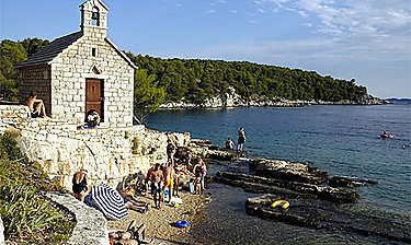 Île de Brač (Dalmatie)
