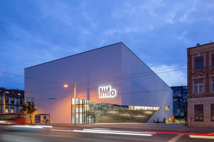 Lituanie - Vilnius inaugure son nouveau musée d'art contemporain