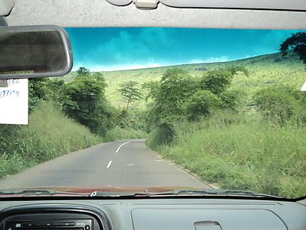 Sur la route de Mbankana