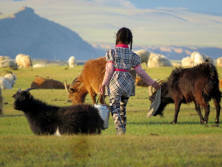La petite princesse mongole, Mongolie, par Katell-50