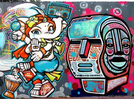 Art street (Shiro One et Dacruz)