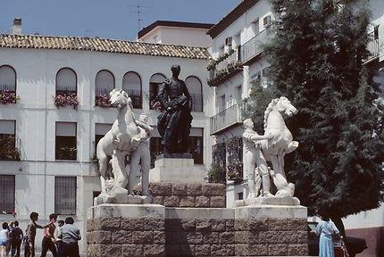 Cordoue - Monument à Manolete