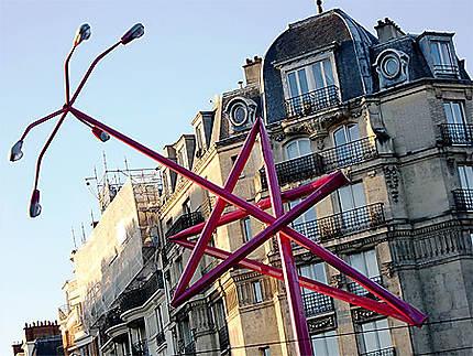 Sculpture lampadaire