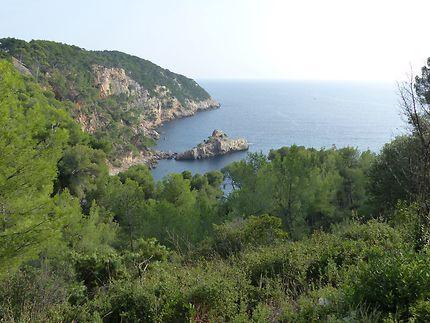 Vue imprenable, à Saint-Cyr-sur-Mer