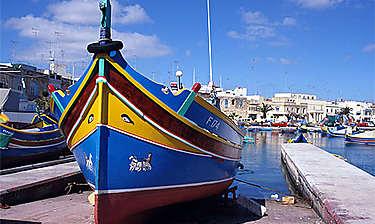 Marsaxlokk (île de Malte)