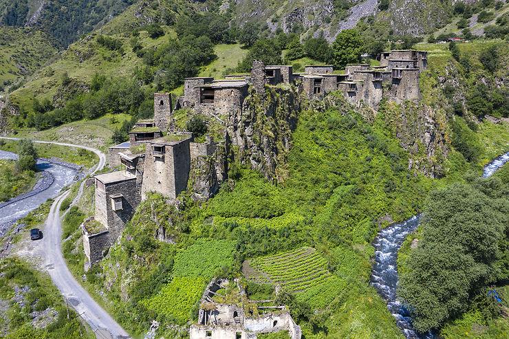 Les vallées perdues de Touchétie et Khevsourétie