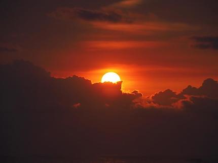 Coucher de soleil Malpais