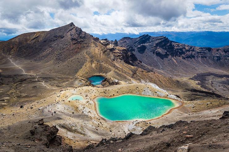 Les grands parcs nationaux : Océanie