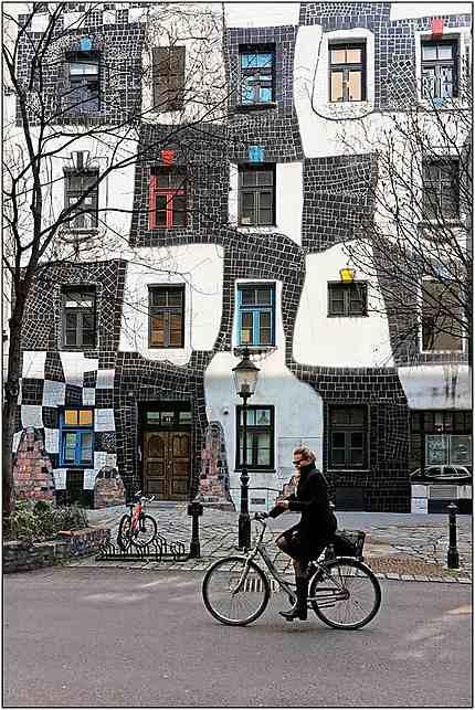 Façade musée Hundertwasser