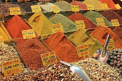 Couleurs du Bazar égyptien