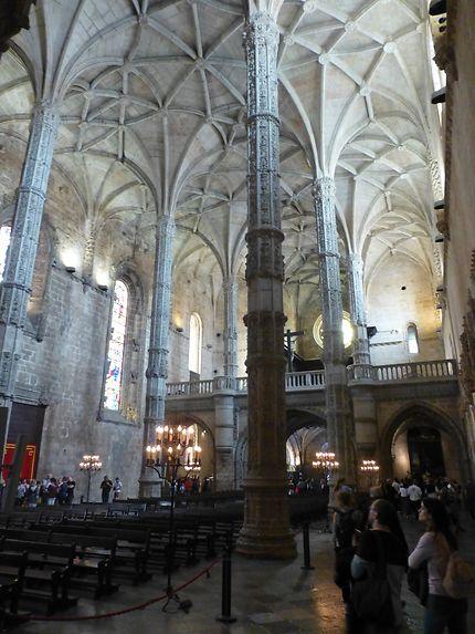 Eglise lumineuse, Mosteiro dos Jerónimos, Lisbonne