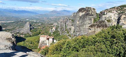 L'un des monastères des Météores en Grèce