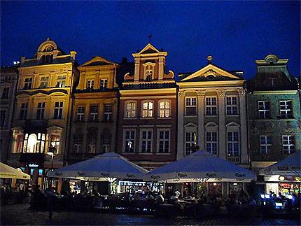 Stary Rynek de nuit