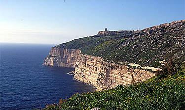 Falaises de Dingli (île de Malte)
