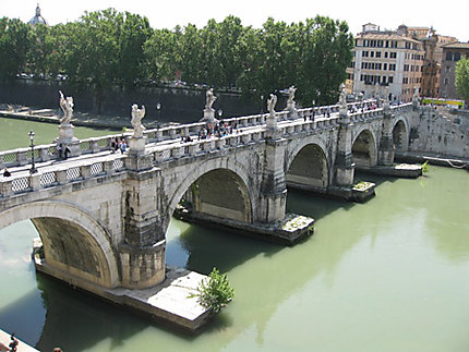 Pont Sant'Angelo vu de face